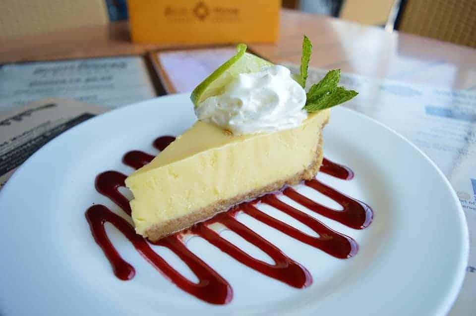 key lime pie heartburn