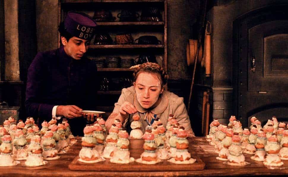 The Grand Budapest Hotel Mendle taartje