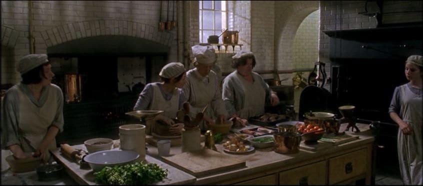 keuken gosford park