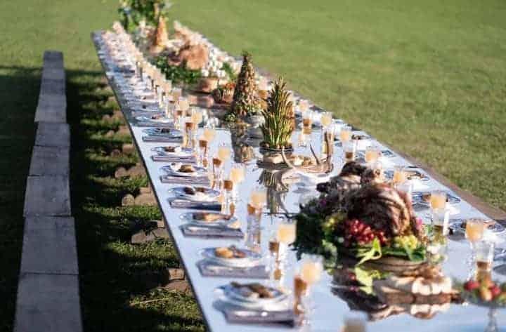 Midsommar tafel
