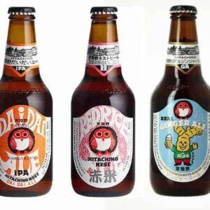 Drie Japans bier